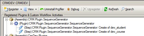 CRM.Plugin.SequenceGenerator Plugin