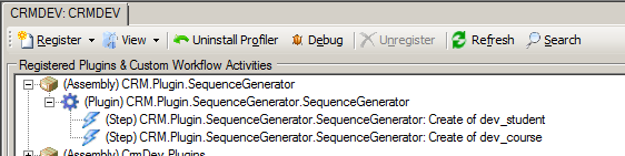 CRM.Plugin.SequenceGenerator Plugin